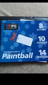 Tickets paintball