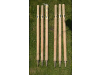 Cricket stumps (six)
