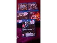 ps4 1tb one controller 5 games no box works perfectly