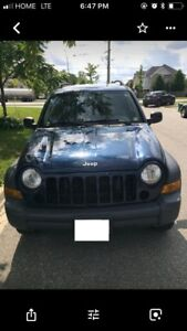 2007 Jeep Liberty , kilometres are in American