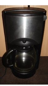 Sainsbury's Black and Stainless steel coffee Maker Machine