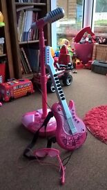ELC Girls Microphone, Guitar and Guitar shades with mic