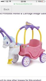 Little tikes horse and carriage Brand new in box