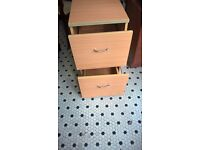 BARGAIN 2 DRAW FILING CABINET WAS £15 NOW ONLY £10 MUST GO NOW