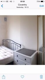 Room furnished available cv6 coventry short term long term welcome text to view 07888832828
