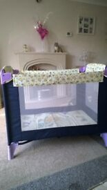 MotherCare Travel Cot, and play pen