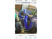 Quads an Pitbike frame