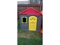 Garden / Outdoor plastic playhouse / toy house / cottage