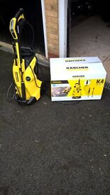 Pressure washer boxed