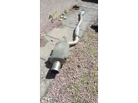 Subaru impreza classic/gc8 stainless cat back exhaust system - rare japanese