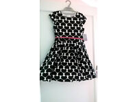Age 9 Brand New with tag Heart dress