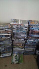 OVER 130 FISHING DVDS