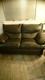 Two seater recliner.