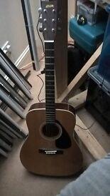 YAMAHA FG335A Acoustic Guitar