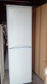Indesit Fridge Freezer for sale in Kilmarnock Good Condition