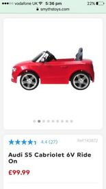 Kids electric Audi