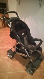 Britax Voyaga Ultra Travel System including Cosy Tot baby carrier/car seat