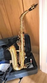 Windsor Alto Saxophone - Beautiful condition, hardly played. Includes case