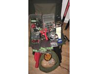 Carp fishing, match, cource, not sea fishing angling rods reels tackle