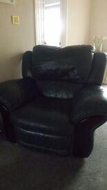Leather 3 piece suite Excellent condition