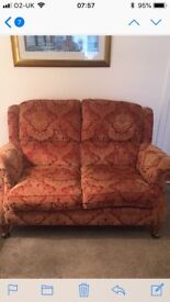 immaculate sterling furniture sofa and chair, Ercol brand