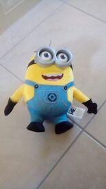 Talking minion toy