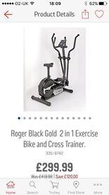 Roger black 2 in 1 cross trainer