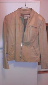 Beautiful Ladies Motorcycle Leather Jacket,, Palomino color,,