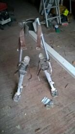 Plastering Spring Loaded Stilts