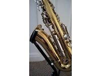 USA Armstrong alto sax very good condition with mouthpiece and case.
