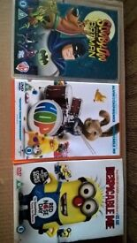 Kids DVDs - some gone already but plenty to pick from or take in bulk for best price