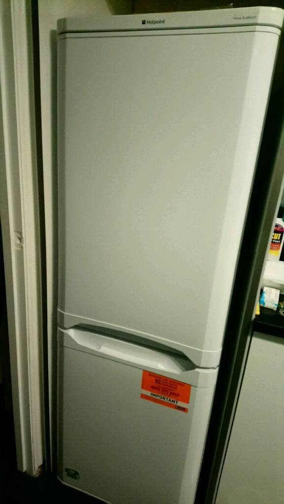 Hotpoint Fridge Freezer for sale - 2 months old