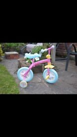 Peppa pig bike 12inch 2-4 brand new