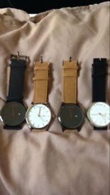 MVMT watches, bought as gifts. Unboxed due to house move, new and never worn.
