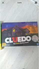 Brand new sealed cluedo game