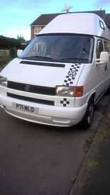 VW T4 CAMPERVAN LOW MILEAGE TAIL GATE..SERVICE HISTORY