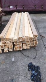 Reclaimed Timber, 4x2 11ft Long, Wooden planks