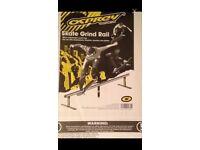 Skate grind rail