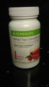 Herbalife 1 Bottle Herbal Tea Concentrate - 1.8 oz (Raspberry flavor)