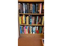 CLEARANCE BARGAIN BOOK BUNDLES 50 FAB FICTION BOOKS ALL TYPES ONLY £10 ALL EXC. COND..20P A BOOK
