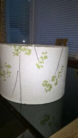Job lot - 7 light/lamp shades of various sizes - good condition.