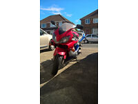 2002 honda cbr600f. family owned for the last 10 years