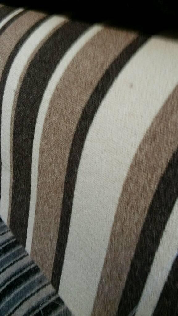 Striped berber carpet