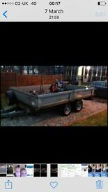 10ft by 6ft trailer