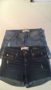 2 pairs of shorts by garage company