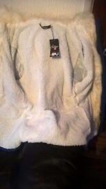 new deep blue big hud coat xxl 14 16 18