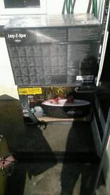 Lazy spa hottub liner and lid