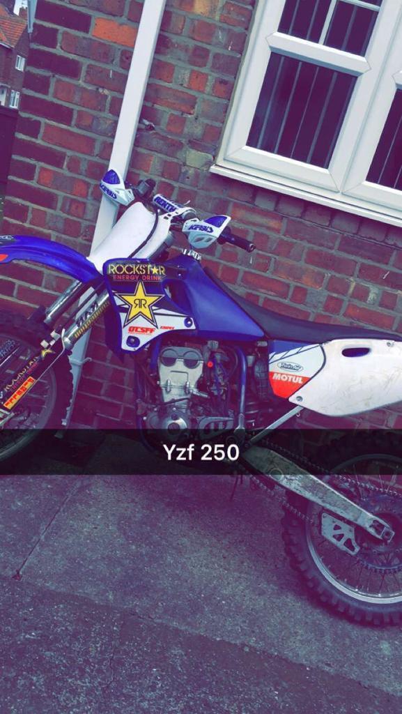 Yzf 250 not crf kxf rmz ktm