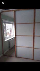 Sliding wardrobe doors x4