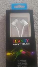 I candy earphones